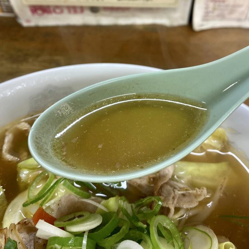 大須賀食堂 おおすがしょくどう 秋田県能代市河戸川 タンメン スープ