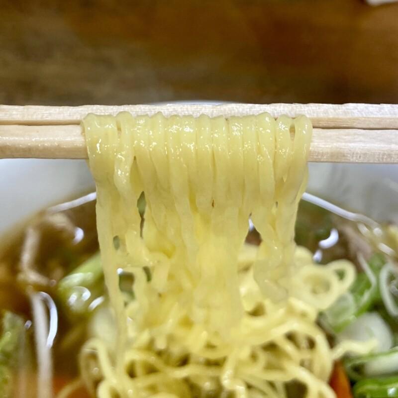 大須賀食堂 おおすがしょくどう 秋田県能代市河戸川 タンメン 麺