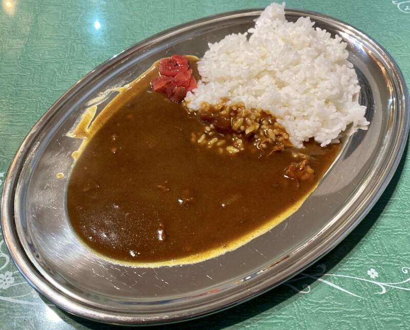 立喰い蕎麦・うどん レトロ 立食いそば 秋田県能代市住吉町 半ライスカレー