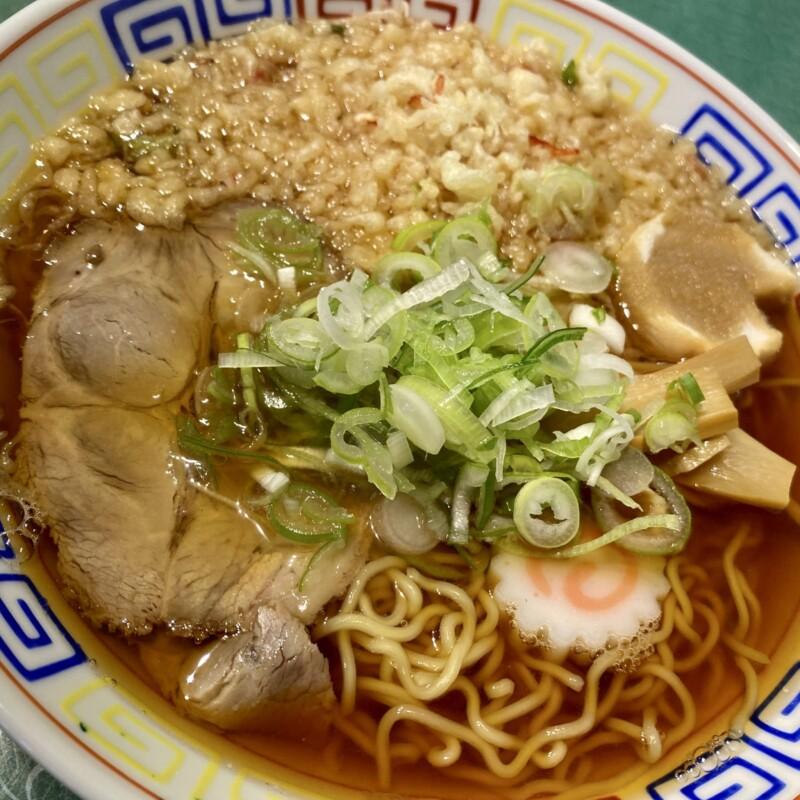 立喰い蕎麦・うどん レトロ 立食いそば 秋田県能代市住吉町 中華そば 天かす 具