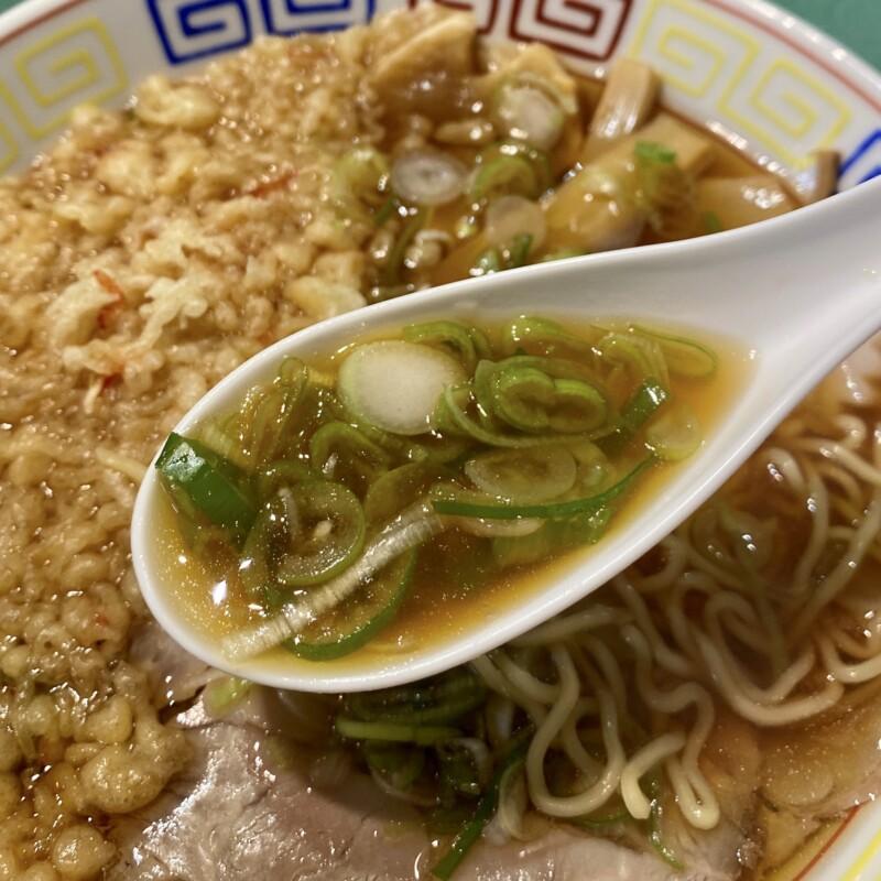 立喰い蕎麦・うどん レトロ 立食いそば 秋田県能代市住吉町 中華そば 天かす スープ ネギ