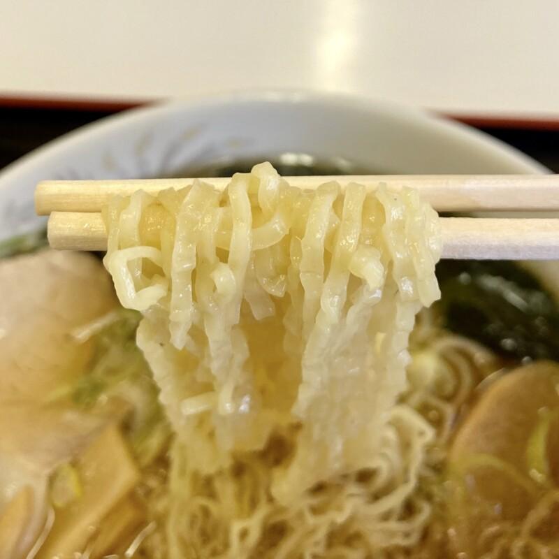 風穴ドライブイン ふうけつドライブイン 秋田県大館市長走 津軽ラーメン 細縮れ麺 煮干しラーメン 麺