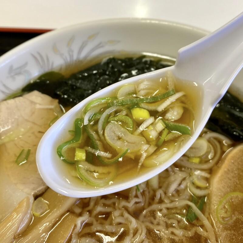 風穴ドライブイン ふうけつドライブイン 秋田県大館市長走 津軽ラーメン 細縮れ麺 煮干しラーメン スープ ネギ