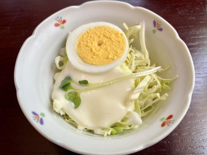 十割そば そばこまち 秋田県能代市明治町 チャーシューめん しょう油ラーメン 醤油ラーメン 野菜サラダ無料