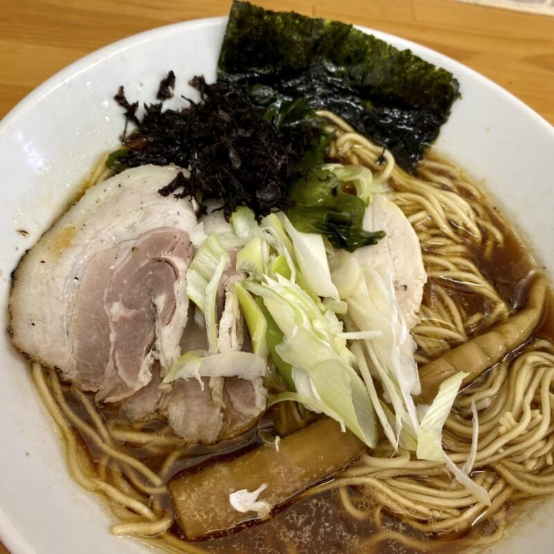 自家製麺 きずからーめん 秋田県大館市餌釣 醤油ラーメン 具