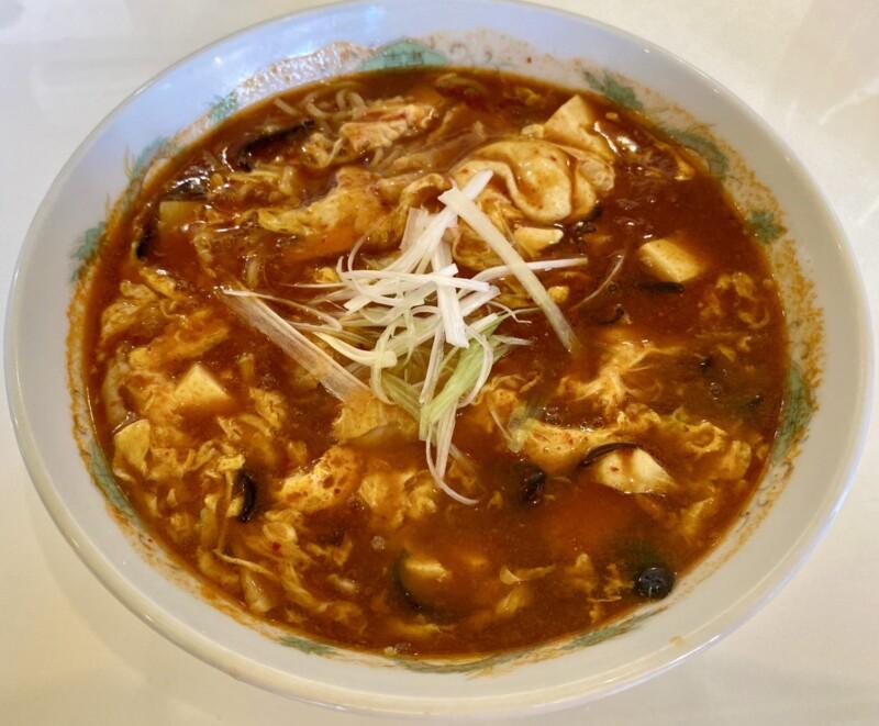 池内食堂 いけないしょうどう 秋田県大館市池内 酸辣湯麺