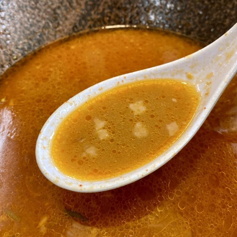 ラーメン ニューとん太 能代店 秋田県能代市 シンデンジャン 辛味噌ラーメン スープ