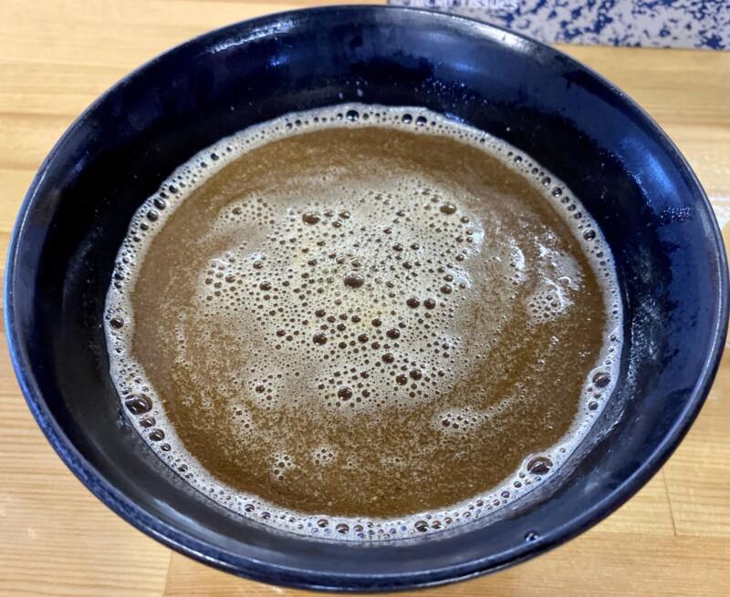 らーめん萬亀 ばんき 秋田県秋田市山王新町 汁なし坦々つけめん醤油 つけ汁ブレンド つけ汁 スープ