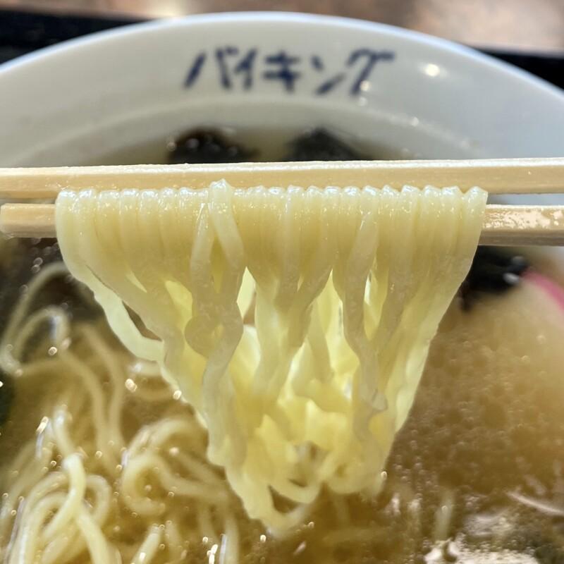 海鮮料理バイキング 秋田県潟上市昭和大久保 大漁塩ラーメン 麺