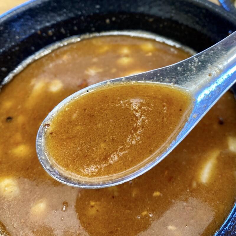 麺屋 羅漢 秋田県横手市条里 海老つけ麺 つけ汁 スープ