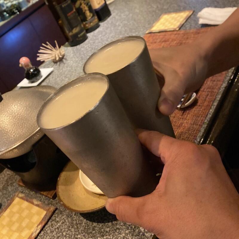 和ダイニング 我楽 郷土料理 秋田県秋田市中通 生ビール 乾杯