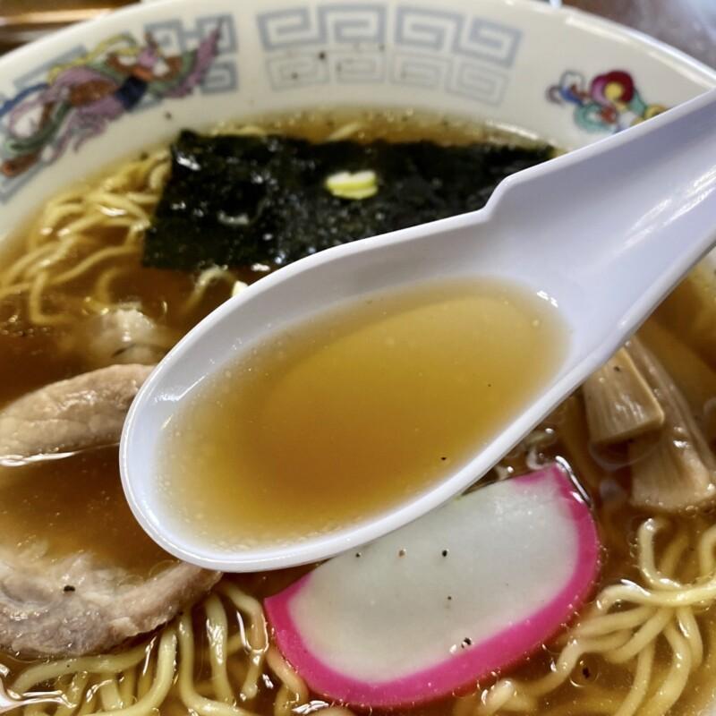 お食事処庵 いおり 秋田県大仙市四ツ屋 半チャーハンラーメンセット炒飯 中華そば スープ