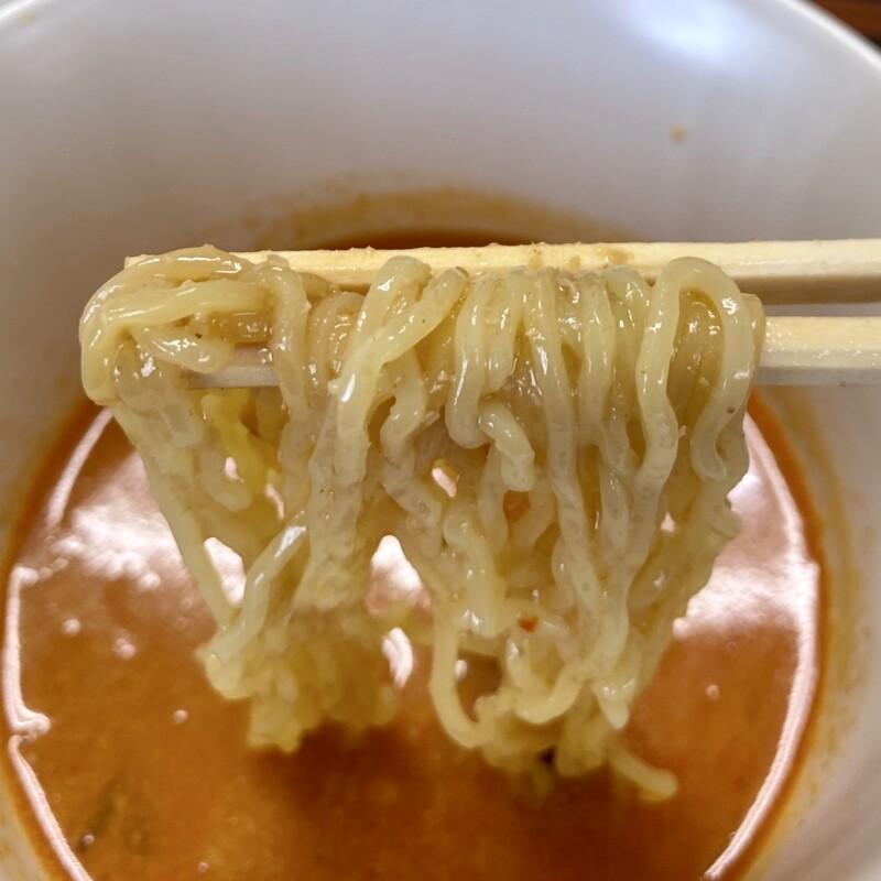 レストラン真珠 真珠食堂 秋田県能代市二ツ井町 スタミナ冷しラーメン 辛付け麺 辛口つけめん 麺