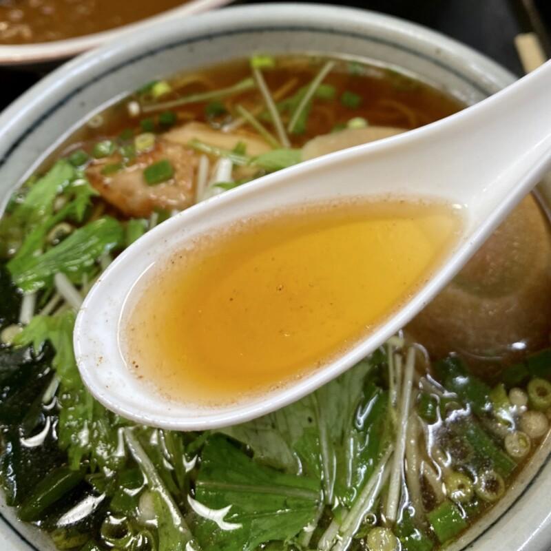 旨いものや 食亭 あじさい 味菜 秋田県湯沢市湯ノ原 らーめんセット ラーメン スープ