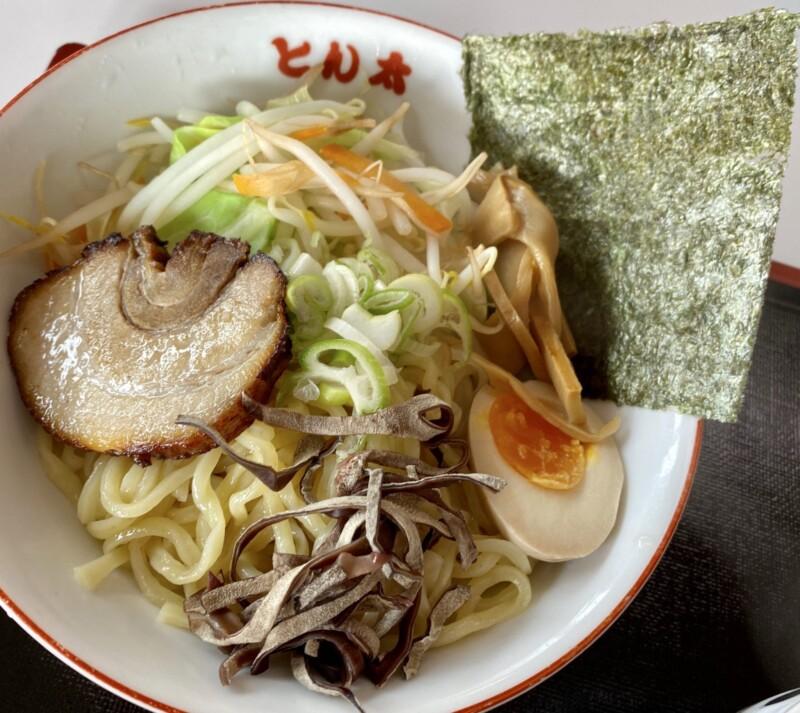ラーメンとん太 湯沢店 秋田県湯沢市桜通り 特製つけ麺 味噌 具