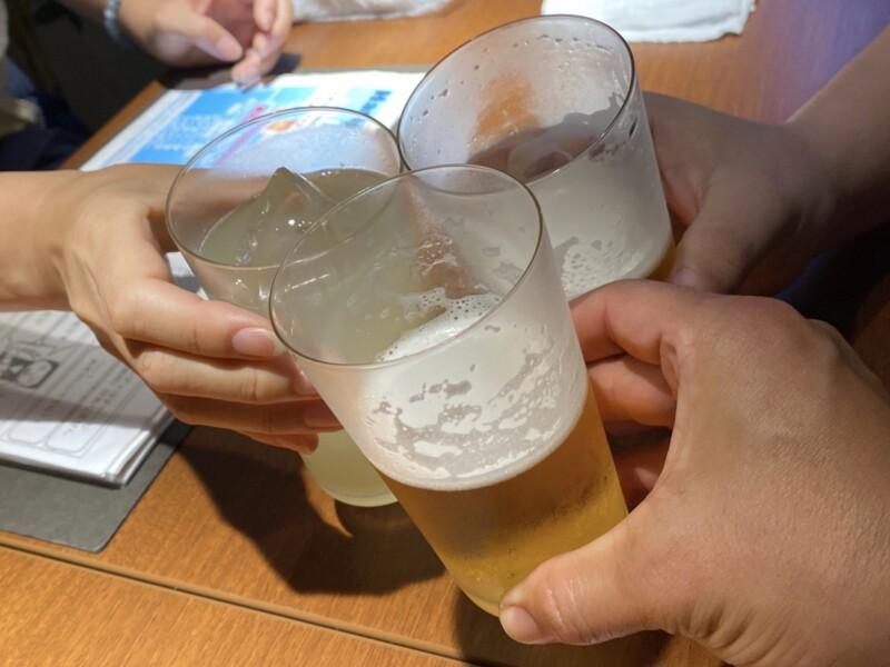 ANDY'S COCKTAIL AND WHISKY HOUSE アンディーズ カクテル アンド ウイスキー ハウス 秋田県秋田市大町 乾杯 生ビール