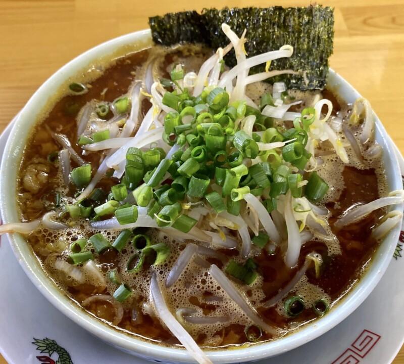 らーめん萬亀 ばんき 秋田県秋田市山王新町 辛いつけめん あっさり味噌 つけ汁 スープ