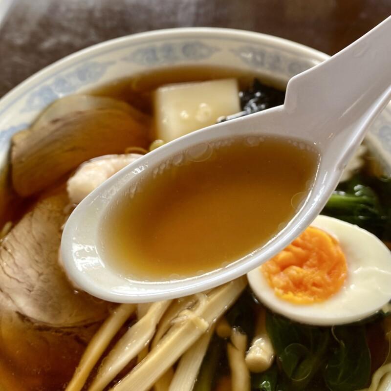 中華料理 中華クック 秋田県鹿角市花輪 醤油ラーメン クックラーメン 餅 もち入 スープ