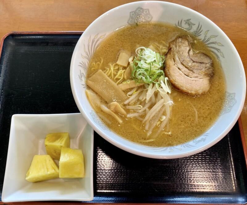 農家レストラン なのはな 秋田県南秋田郡大潟村 道の駅おおがた内 黄大豆味噌ラーメン