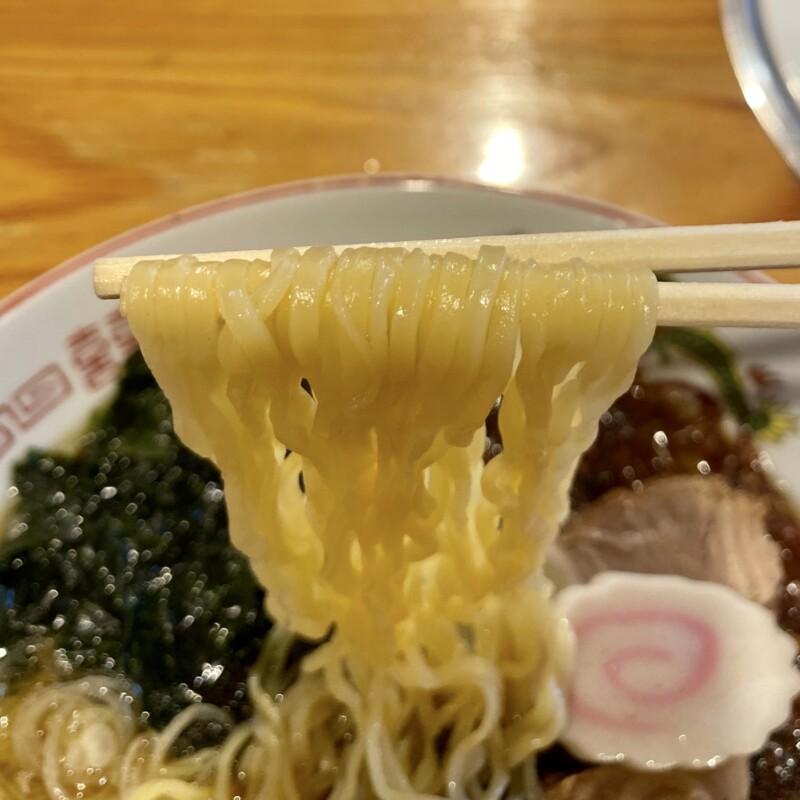 焼肉 大将 秋田県にかほ市金浦 にかほ陳屋内 大将ラーメン 海藻ラーメン 麺