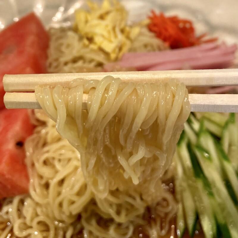 喫茶レストラン 葡蘭馳 ぶらんち 秋田県秋田市中通 冷やし中華 麺
