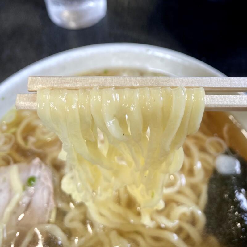 まるひろ食堂 山形県南陽市宮内 中華そば 麺