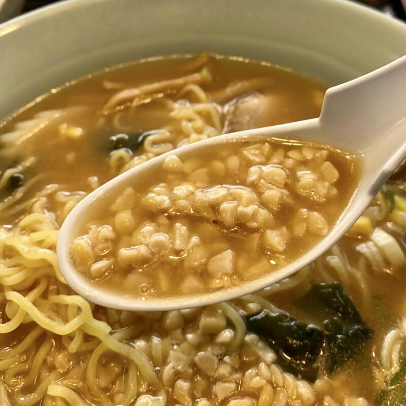 レストランしらやま 秋田県男鹿市払戸 男鹿ふっと観光案内所内 納豆ラーメン みそ味 味噌ラーメン スープ