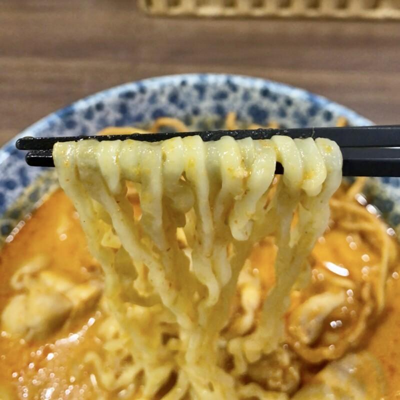 Curry & Noodle Thai Ginger カリー&ヌードル タイジンジャー 福島県郡山市大槻町 カオソーイ タイ風カリーヌードル カレーラーメン 喜多方 曽我製麺