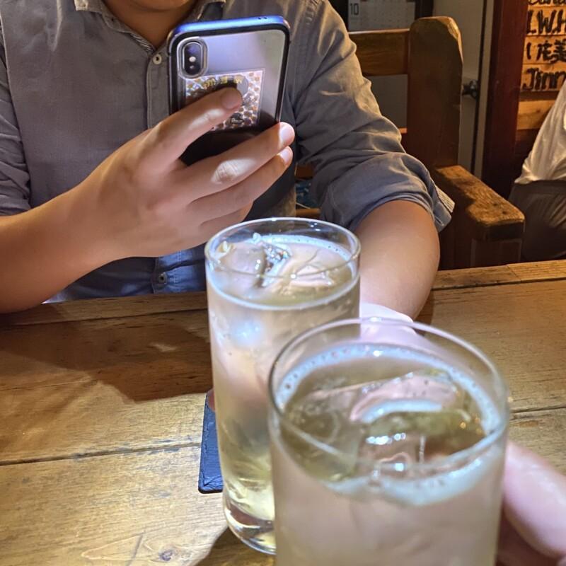 ここじゃむoser 秋田県秋田市大町ハイボール 乾杯