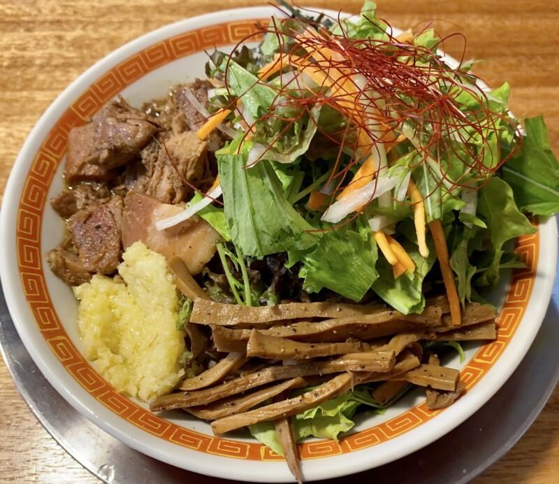 湯の台食堂 秋田県にかほ市象潟町横岡 汁無し中華 汁なしまぜそば