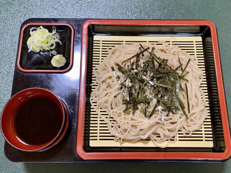 食事処 能登 能登寿司 秋田県鹿角市十和田毛馬内 寿しそばセット 冷 ざるそば 蕎麦