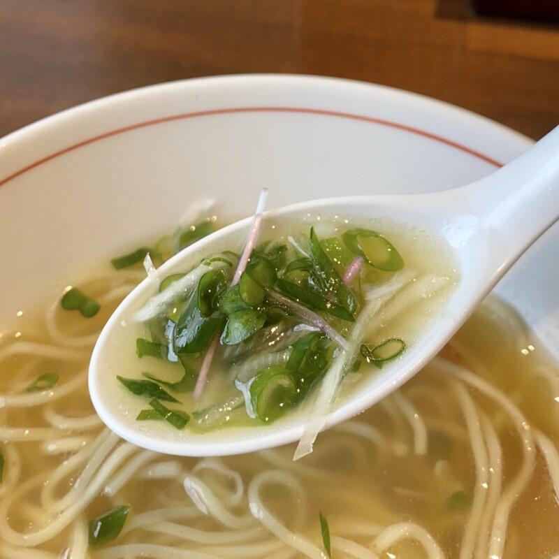 吟麺 今日華 ぎんめん きょうか 岩手県盛岡市本宮 魚だしらーめん 塩ラーメン スープ ネギ