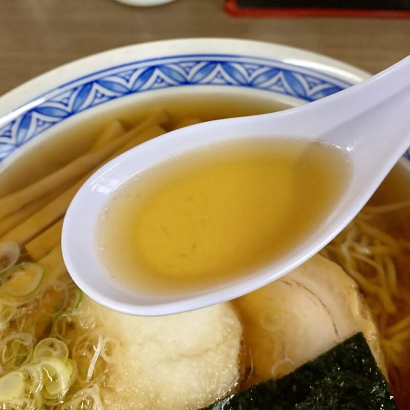 わんこそば・生そば・日本料理 直利庵 岩手県盛岡市中ノ橋通 おろし中華 中華そば スープ