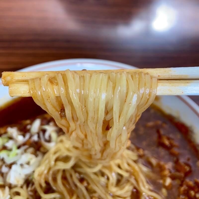 磯ラーメン丹丹 岩手県北上市大通り 丹丹メン 麺