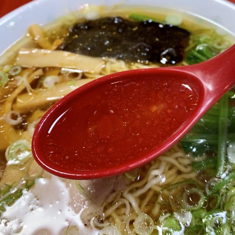 つつみ食堂 岩手県北上市常盤台 ラーメン スープ