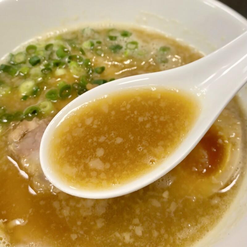 らーめん一 はじめ 岩手県北上市川岸 豚鶏醤油 背脂豚骨醤油ラーメン スープ