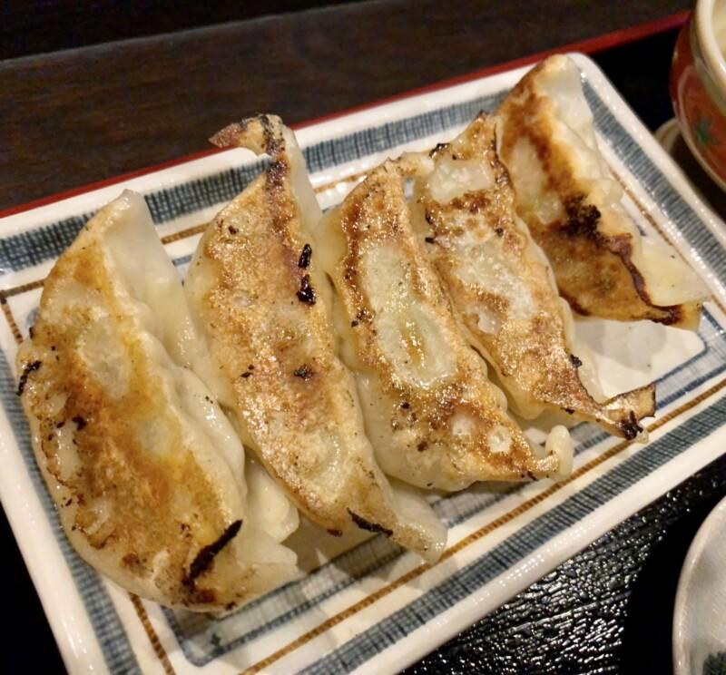 楽駄屋 らくだや 岩手県北上市本通り 本日の定食 もやしあんかけラーメン・ごはん・ギョーザセット 餃子