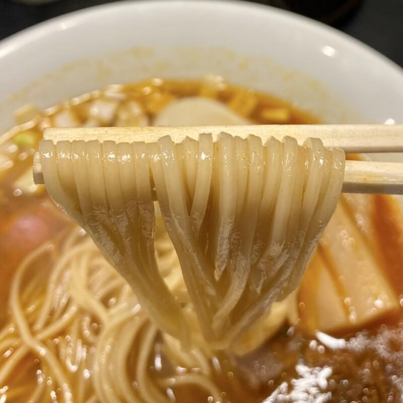 麺牛ひろせ 宮城県仙台市宮城野区福室 特製辛牛そば 麺