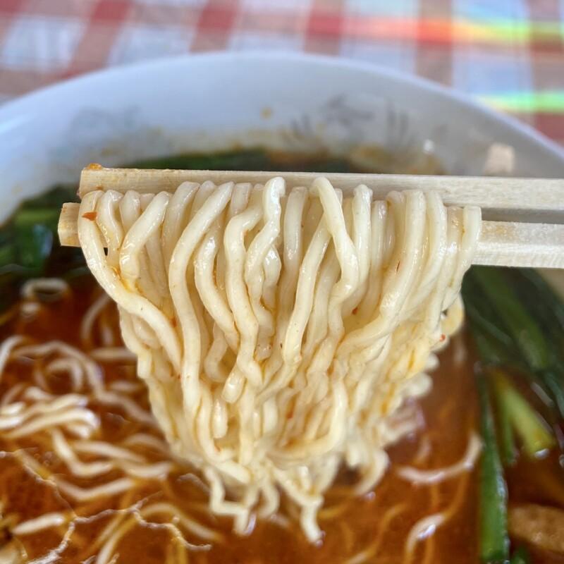 さかえや 満州ニララーメン 岩手県花巻市東和町 ニラもつラーメン 醤油 ガリガリ 麺