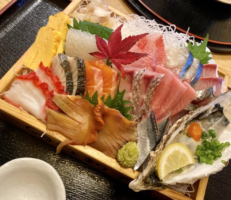 江釣子屋 えづりこや 岩手県北上市上江釣子 数量限定 刺身定食