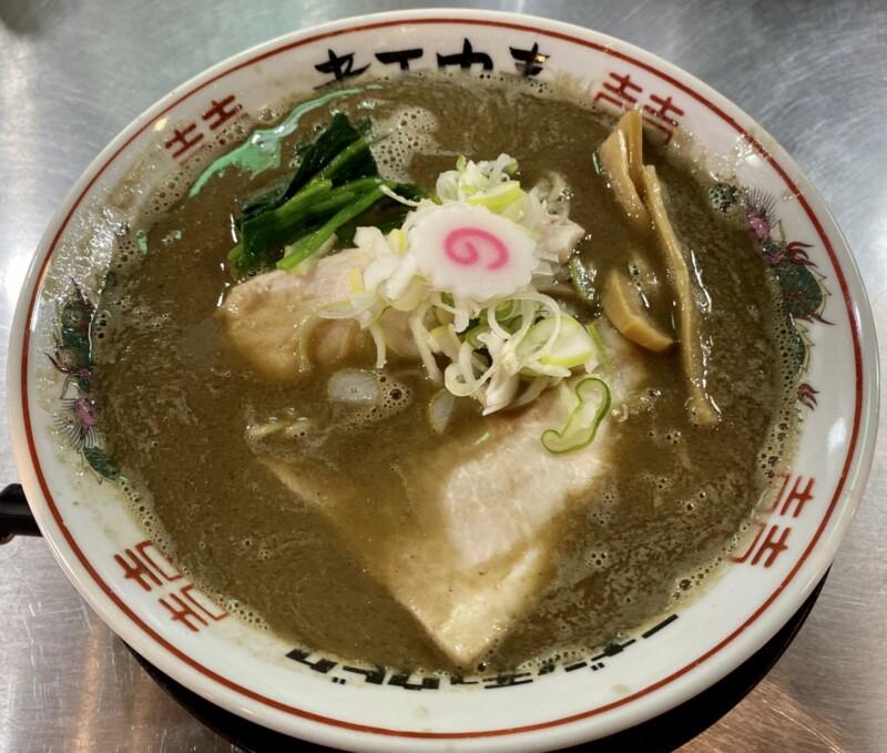 津軽煮干中華蕎麦 サムライブギー 岩手県久慈市中央 濁り煮干しソバ
