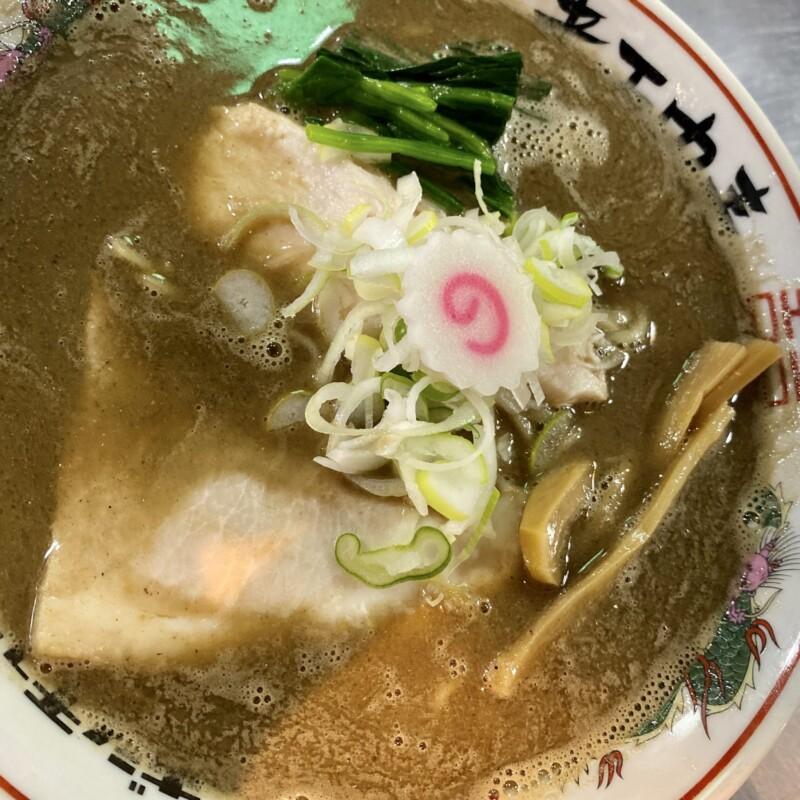 津軽煮干中華蕎麦 サムライブギー 岩手県久慈市中央 濁り煮干しソバ 具