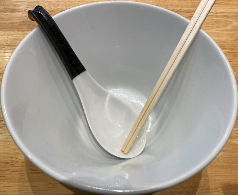 ラーメン シロクロ SHIROKURO 秋田県秋田市八橋 塩ラーメン 完食