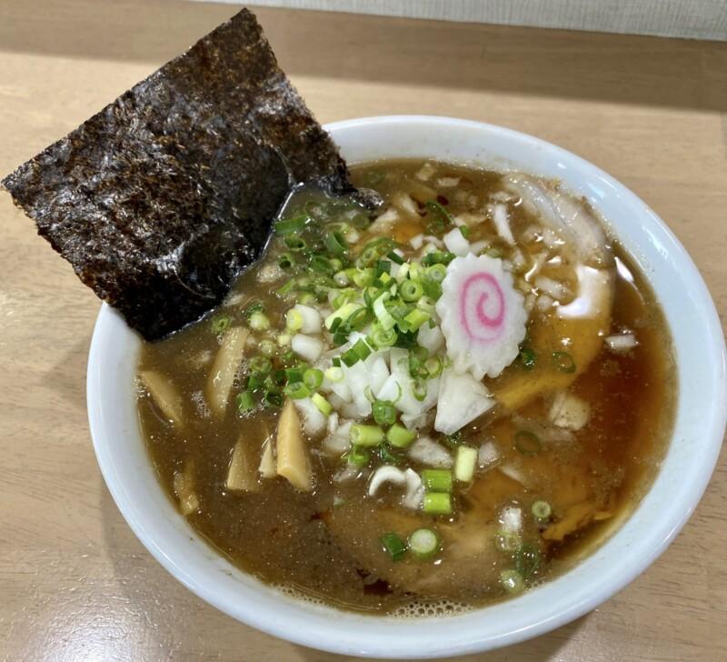 MONCHAN RAMEN SHUN もんちゃんラーメン シュン 秋田県由利本荘市川口 煮干そば