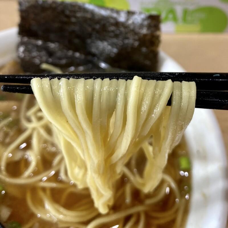 MONCHAN RAMEN SHUN もんちゃんラーメン シュン 秋田県由利本荘市川口 煮干そば 麺