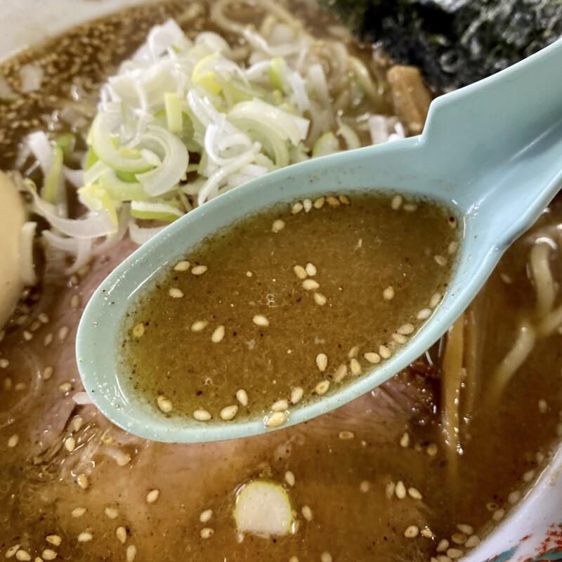 らーめん萬亀 ばんき 秋田県秋田市山王新町 あっさり味噌 味噌ラーメン スープ