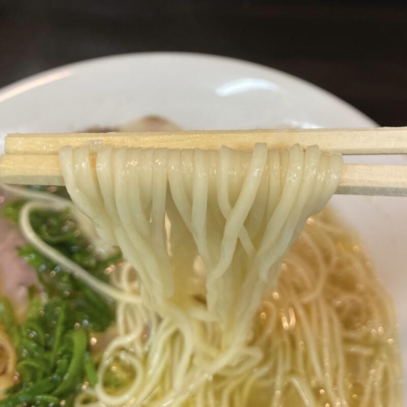 麺屋 満開 秋田県秋田市広面 生姜塩 塩ラーメン 麺