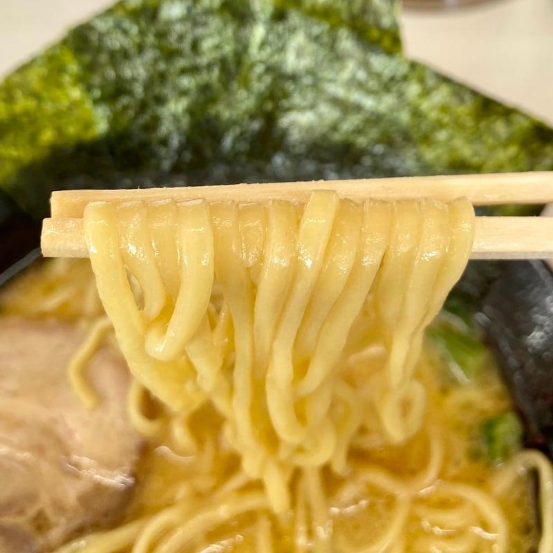 横浜家系ラーメン 浜乃家 秋田県横手市十文字町 醤油ラーメン 麺