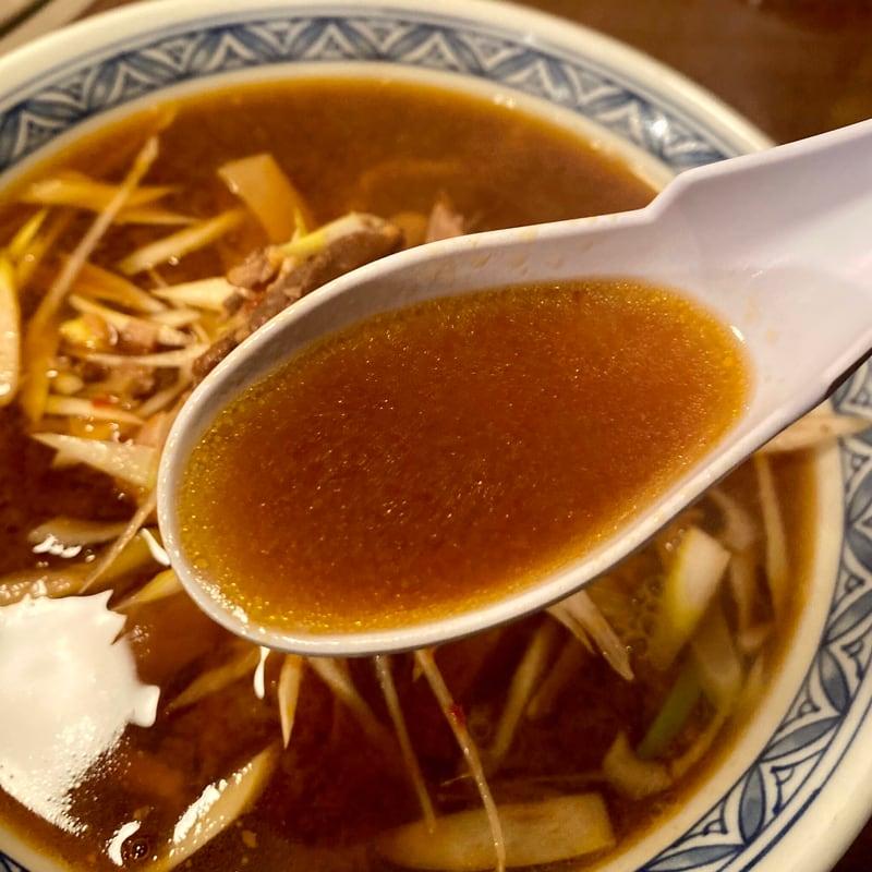 焼肉 ラーメン 大番 秋田県由利本荘市前郷 旧由利町 ネギみそラーメン 味噌ラーメン スープ