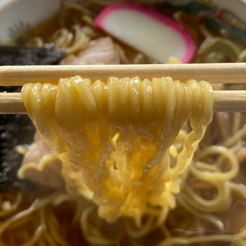 田中屋支店 秋田県大仙市花館上町 中華そば 麺